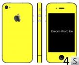 iPhone 4s Sticker Geel